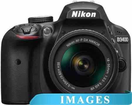 Инструкция для Фотоаппарата Nikon D3400 Double Kit AF-P DX 18-55mm VR  70-300mm VR