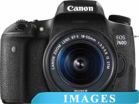 Инструкция для Фотоаппарата Canon EOS 760D Double Kit 18-55mm IS STM  55-250mm IS STM