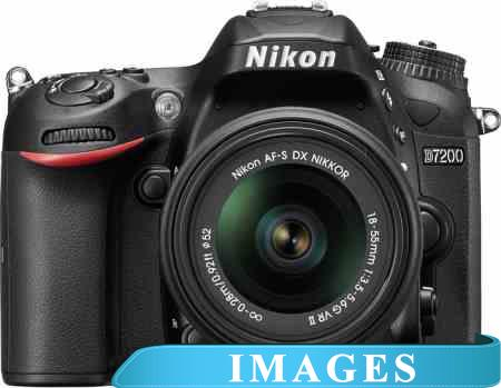 Фотоаппарат Nikon D7200 Double Kit 18-55mm VR II  55-300mm VR