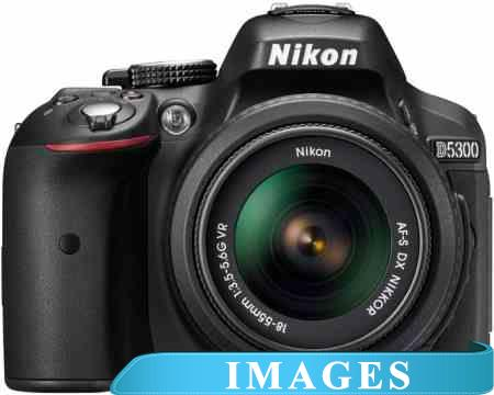 Фотоаппарат Nikon D5300 Double Kit 18-55mm VR  55-200mm VR