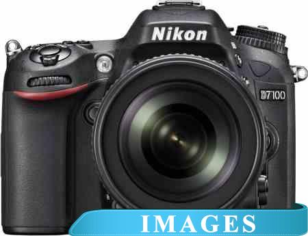 Фотоаппарат Nikon D7100 Double Kit 18-55mm VR  55-300mm VR