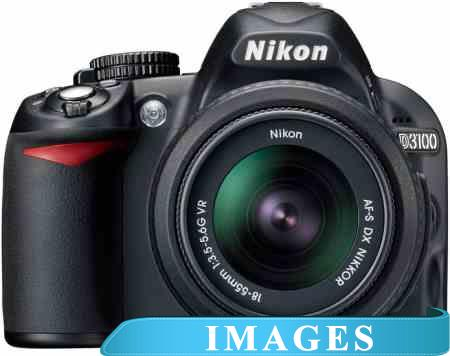 Фотоаппарат Nikon D3100 Double Kit 18-55mm VR  35mm