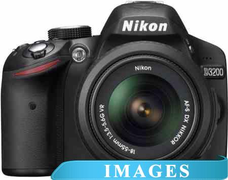 Фотоаппарат Nikon D3200 Double Kit 18-55mm VR  55-300mm VR