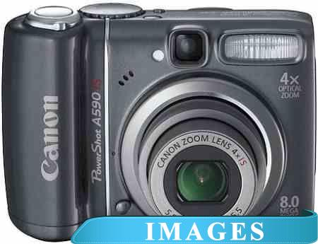 Инструкция для Фотоаппарата Canon PowerShot A590 IS